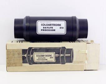 Colourtronic 810 daylite processor, colour print developing tank, vintage darkroom