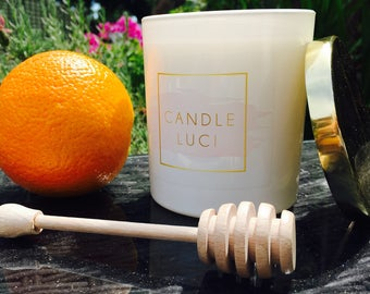 Sicilian Orange & Honey - Soy Wax Candle