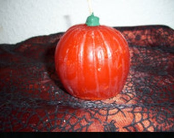 Small Pumpkin Shaped Candle