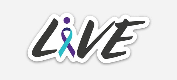 Live: Suicide Prevention Awareness sticker pre-order
