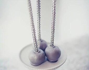 Silver Shimmer Sticks - NEW TREND ALERT - Glam for Lollipops, Cake Pops and All Things Party - Bling Sticks