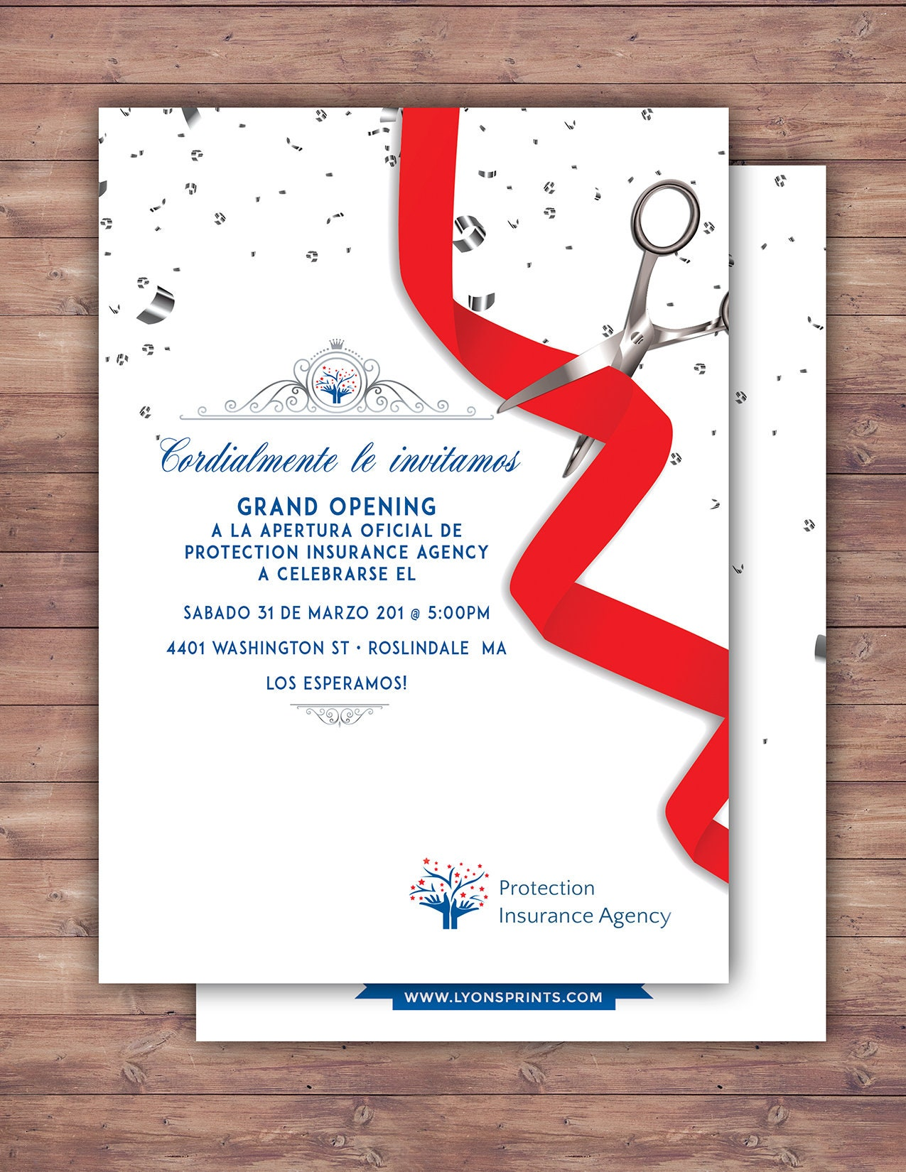 Grand Opening Invitation, Open House, Ribbon Cutting, Grand Opening ...
