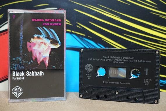 Paranoid by Black Sabbath Vintage Cassette Tape