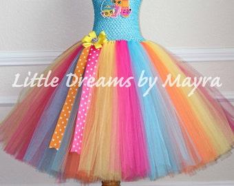 My Little Pony Rainbow Dash Inspired Tutu Dress Rainbow Dash