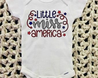 Little Miss America Bodysuit