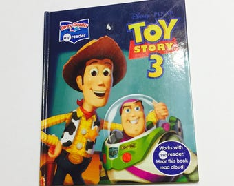 Toy Story 3 Repurposed Book Planner/Sketchbook/Journal/Autograph Book/Notebook