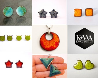 WHOLESALE order, wholesale offer lot of earrings, wholesale jewelry, discount for lot of ceramic jewelry