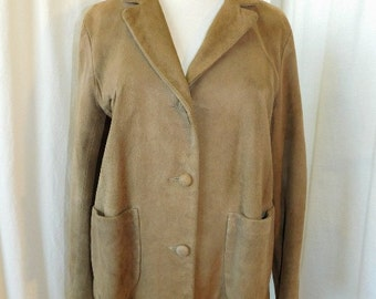 1960's Womans Suede Jacket