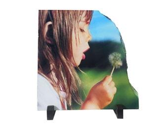 Photo Stone Slate, Photo Plaque, Printed Stones