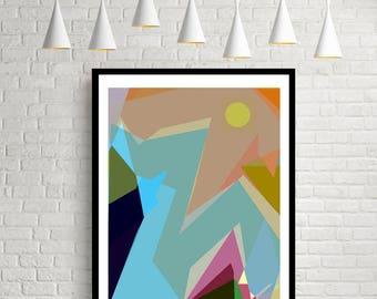 Abstract Art Print, Modern Art Print, Modern Art, Contemporary Art, Geometric Art Print, Abstract Art, Abstract Wall Art,  Wall Art,  Prints