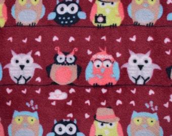 Red OWL blanket