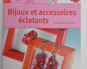 Book jewelry and accessories bright Swarovski crystals