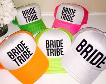 5 Bride Tribe Bachelorette Hats