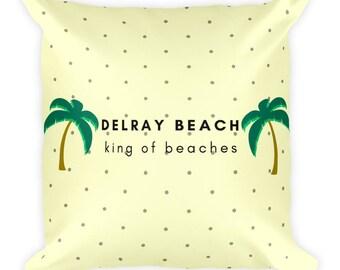 Delray Beach Pillow