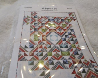 Abstract Paper Quilt Pattern by Patti Carey modern design in 3 sizes