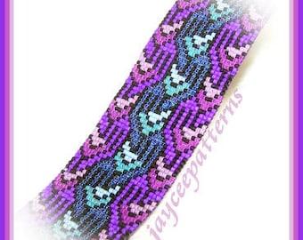 Bead Pattern - Celtic Loom bracelet - Loom Stitch