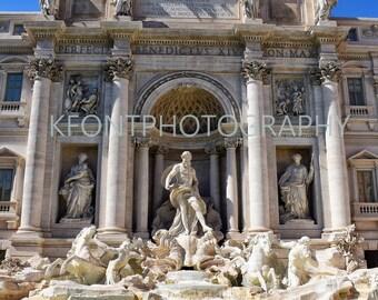 Trevi, Fountain, Italy, Rome, Water, Statue, History
