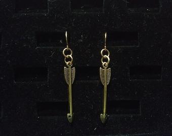 Steampunk Arrow Earring