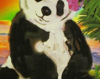 Panda (Bears In Paradise Card Line)