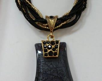 Necklace. Handmade. Fashionable necklace.