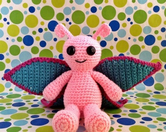 SnuggleMe Butterfly PDF Crochet Pattern