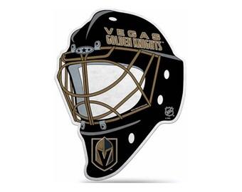 Vegas Golden Knights NHL Face Mask Pennant