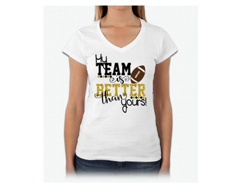 My Team is Better than yours! ... Football, team spirit, funny, fan