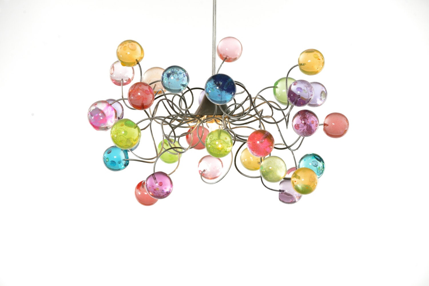 Lighting ceiling light pastel color bubbles for girls zoom arubaitofo Image collections