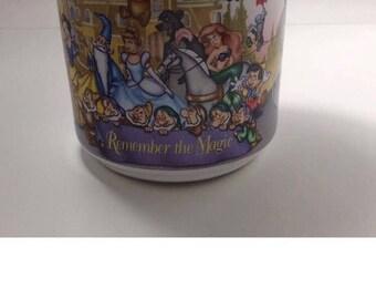 Disney 25th Anniversary  1996 character mug