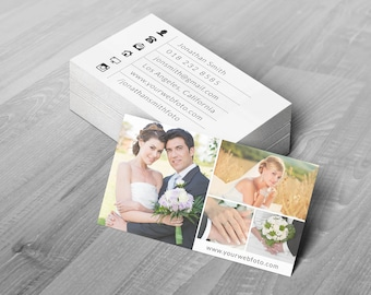 Business Card Template - Photoshop Templates for Photographers - B02