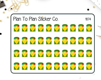 1874~~Crayons Planner Stickers.