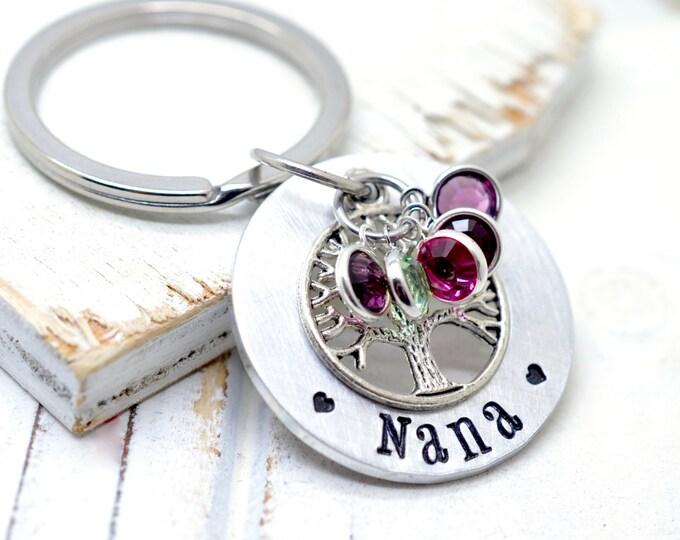 Gift for Grandma, Grandmothers Gift, Nana Keychain, Mothers Day Gift Ideas, Gift for Grandmother, Grandma Keychain, Nana Gift, Gift For Nana