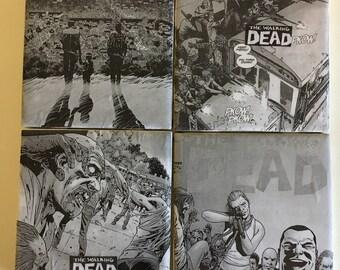 The Walking Dead Coasters