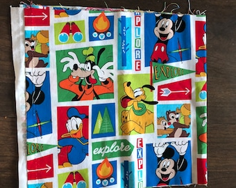Mickey Mouse Explorer Fabric