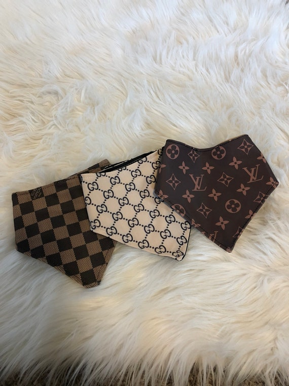 designer inspired drool bibs , pick your fabric , adjustable for newborn to todler , bandana bib , designer