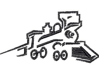 Train engine Railroad embroidery design Embroidery Machine pattern File