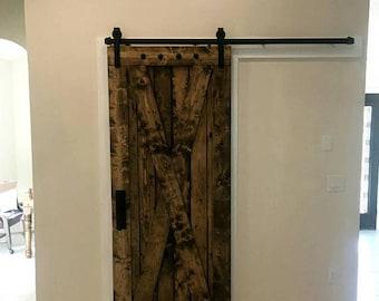 rustic interior barn doors. X Brace Barn Door - Sliding Wooden With Hardware Farmhouse Style Rustic Interior Doors