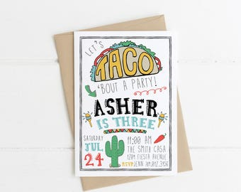 Cool Taco Thank You Card Printable Taco Bout Awesome Baby Funny Birthday Cards Online Chimdamsfinfo