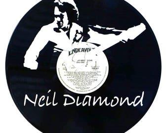 Neil Diamond - Vinyl Record Art