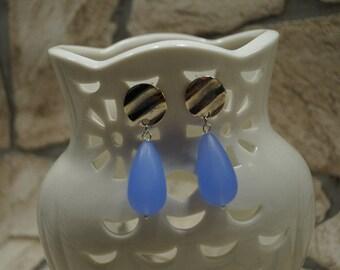 """Earrings """"Blue appearance"""""""