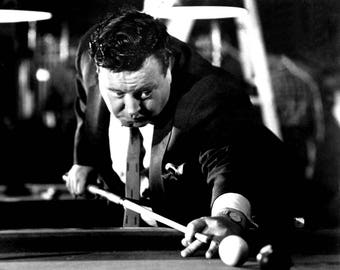 """Jackie Gleason in the Film """"The Hustler"""" - 8X10 or 11X14 Publicity Photo (BB-792)"""