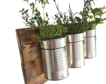 Delightful Rustic Wall Planter   Vertical Garden Planter Hanging Planter Box Vertical  Garden Planter Planter Indoor Hanging