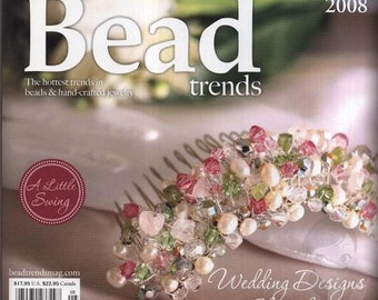 NEW Bead Trends Magazine May/June 2008 SBC