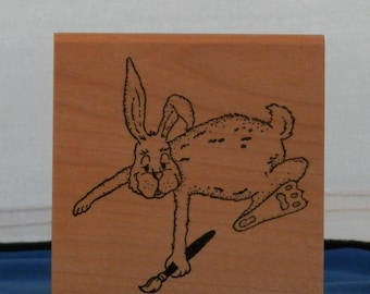 Easter Rabbit Painting