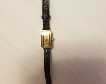 Rare Vintage Hamilton Geneve #769016-4 Gold Electro Plated Manual Wind Ladies Watch