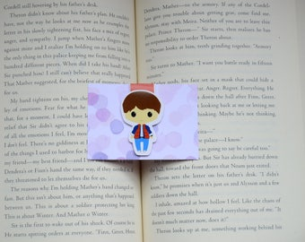Marty macfly magnetic bookmark