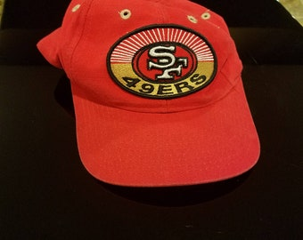 Vintage San Francisco 49ers snap back baseball hat