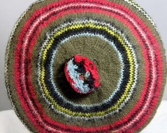 ON SALE NOW Vintage Princess Mary Scotland Wool Tam O Shanter 1960s