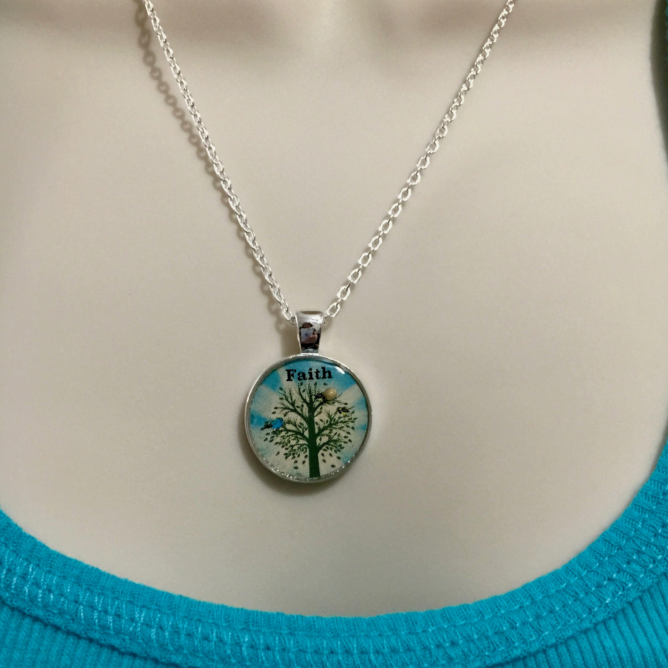 Mustard seed jewelry faith jewelry mustard seed necklace with mustard seed jewelry faith jewelry mustard seed necklace with silver chain light turquoise and silvertree of life necklace matthew 1720 aloadofball Image collections