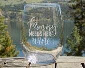 Wine Glass Gift, Xmas Gif...